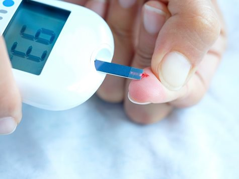 Dosing chemicals for blood glucose monitoring