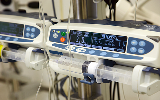 Fast and accurate calibration of infusion pumps