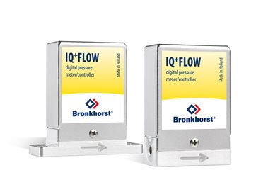 Ultracompacte drukmeters en drukregelaars - IQ+FLOW serie