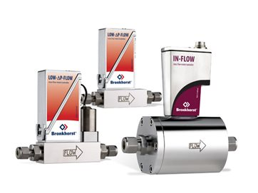 MASS FLOW METERS / CONTROLLERS for gas - LOW-ΔP-FLOW series
