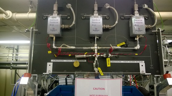 Bronkhorst setup with CEM (Controlled Evaporation and Mixing) system
