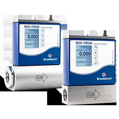 MASS-STREAM GAS Mass Flow Meter & Controller | Bronkhorst