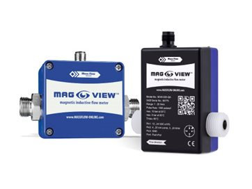 magnetic flow meters for low flow rates - MAG-VIEW series
