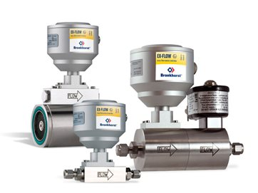 EX-PROOF MASS FLOW METERS / CONTROLLERS FOR GAS - EX-FLOW series