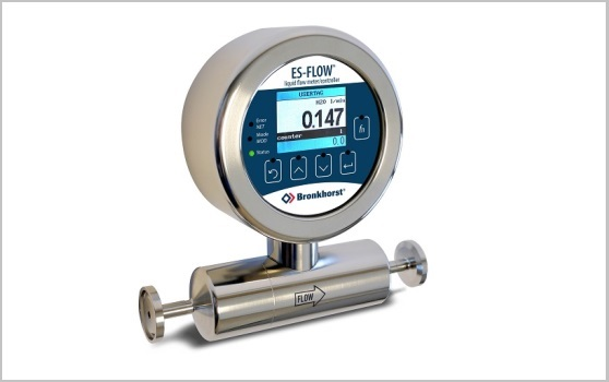 ES-FLOW, ultrasonic volume flow meter