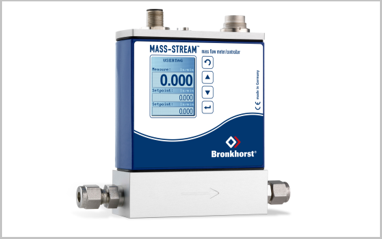 mass stream mass flow meter