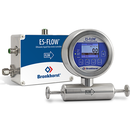 Best Quality Gas >> ES-FLOW Low Flow Ultrasonic Liquid Flow Meter | Bronkhorst