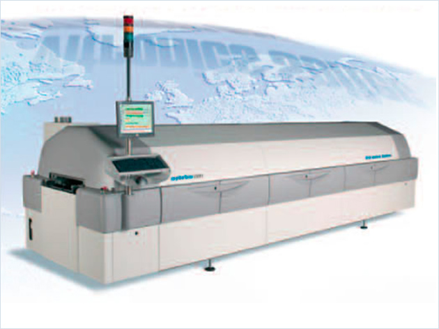 Fully automatic PCB treatment & soldering machine