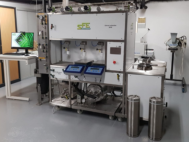 SFE Process equipment for supercritical CO2 extraction