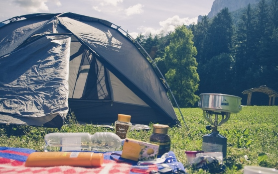 The recipe for all that tasty food and beverage at a campsite; mass flow control