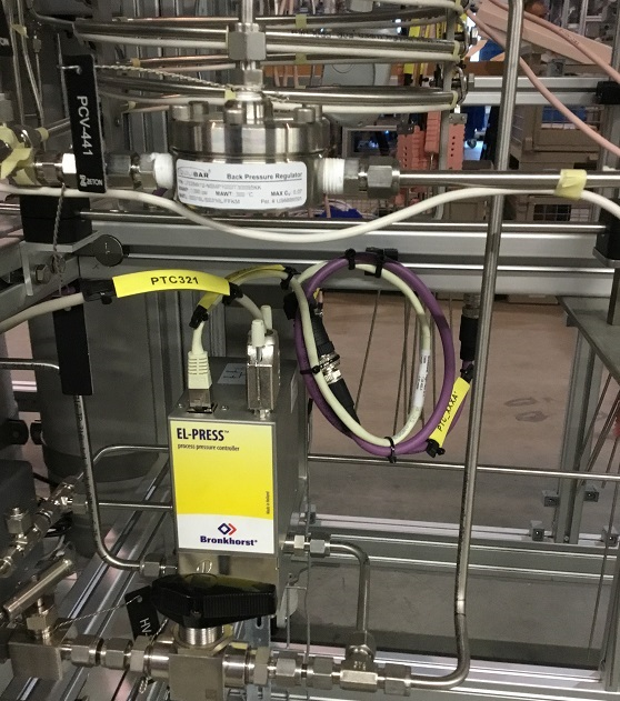 Equilibar dome loaded controller combined with Process Pressure Controller  in application – source: Zeton, NL