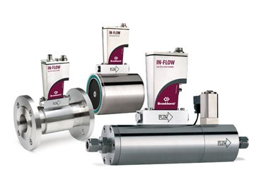 Mass Flow Meters Controllers for gas - IN-FLOW HIGH-FLOW series