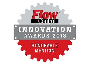Flow Control Innovation Awards 2018 honorable mention ES-FLOW™ ultrasonic flow meter
