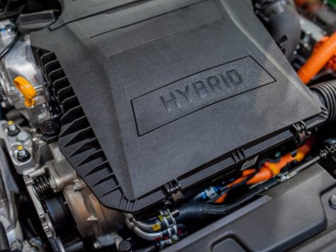 Hydrogen used for car engine