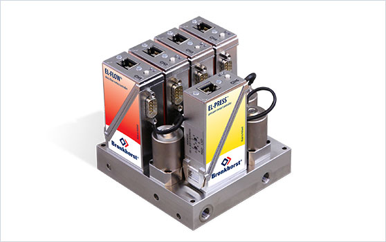 mass flow meters and controllers for ICP-AES, Digital Manifold Solution
